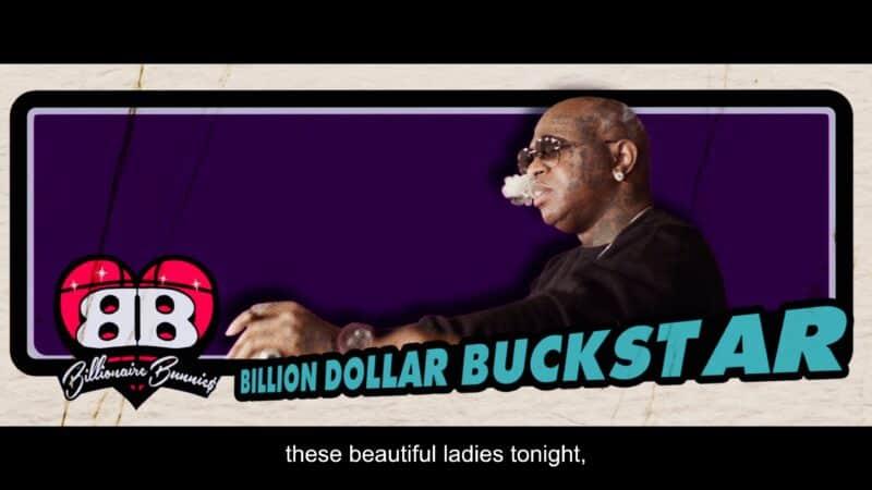 Buckstar (Bryan 'Birdman' Williams) being introduced in the movie