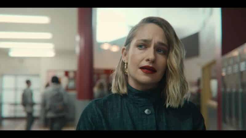 Hope (Jemima Kirke) exasperated