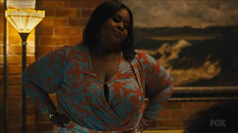 Josephine (Raven Goodwin) with her hand on her hips