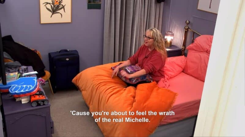 Michelle vowing revenge