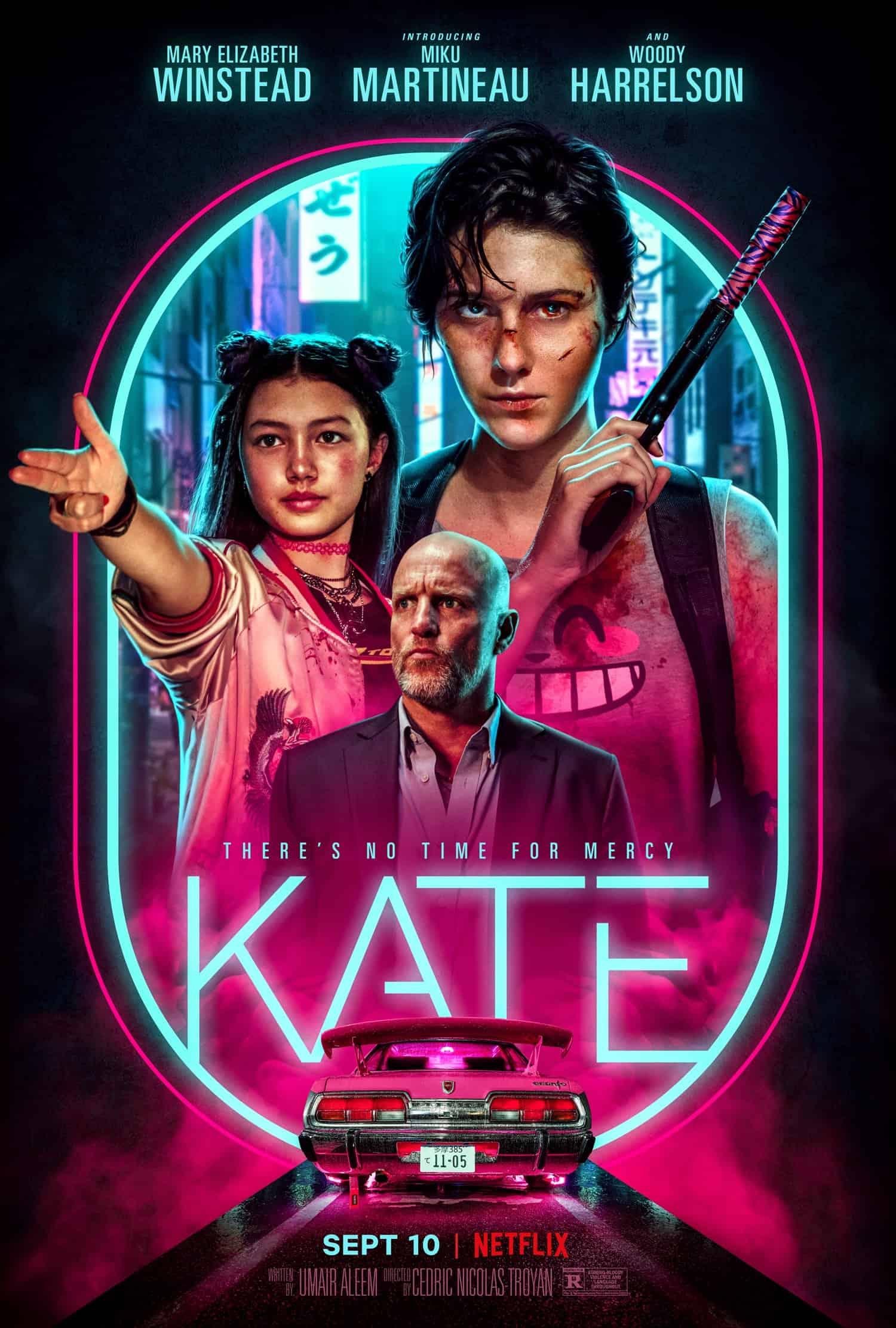 Movie Poster - Kate (2021)