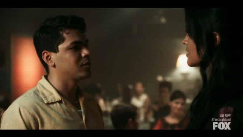 Raul (Adam Irigoyen) talking to Alma
