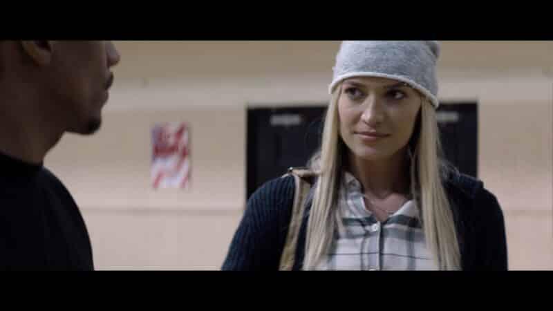 Shelby (Melody Rae) at Avery's community center