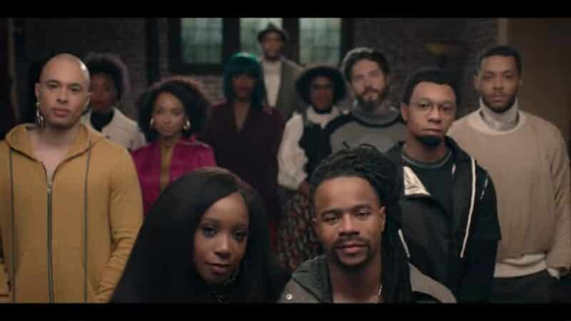 The lead cast of Dear White People