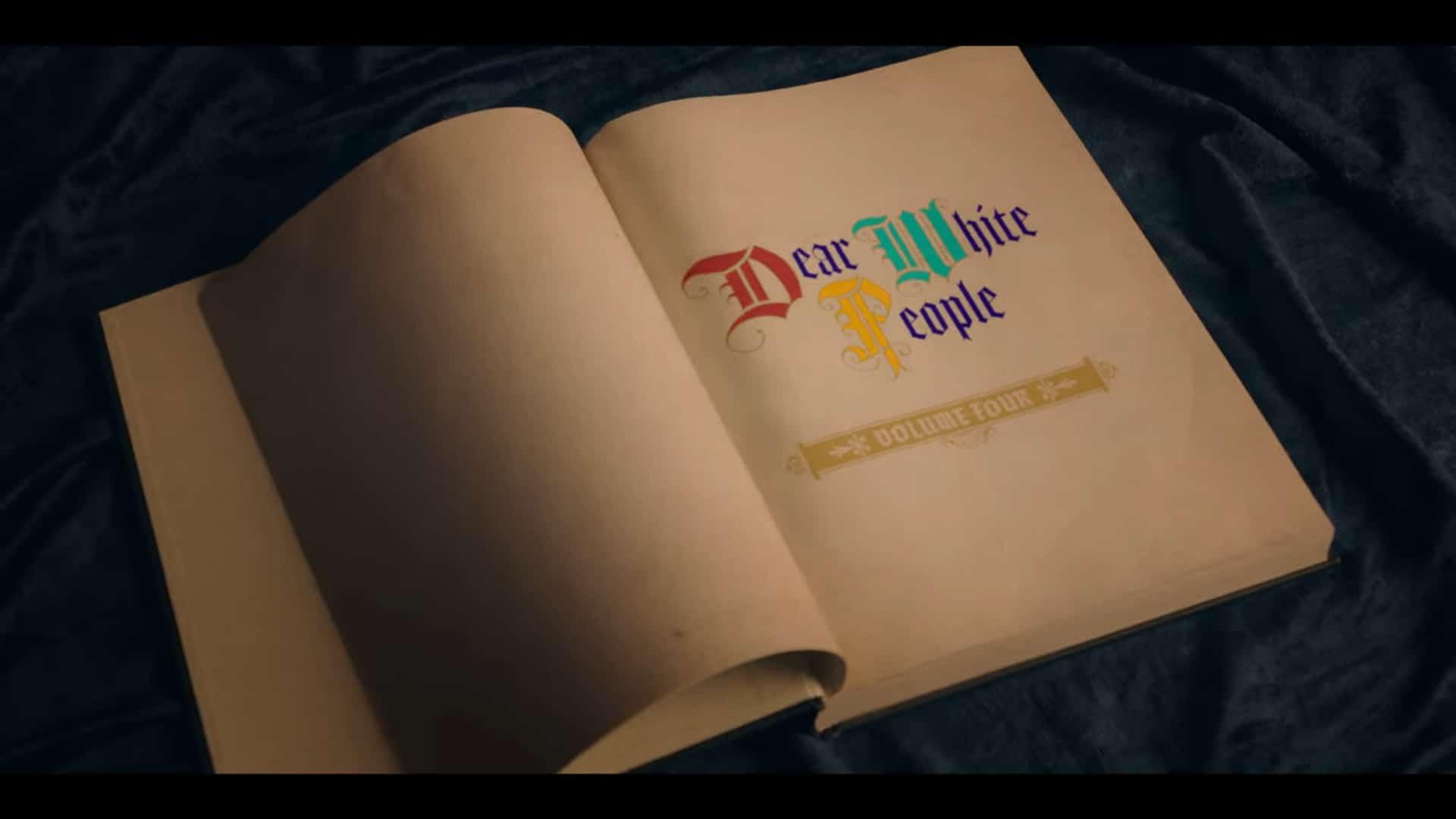 Title Card - Dear White People Season 4 (Volume IV)