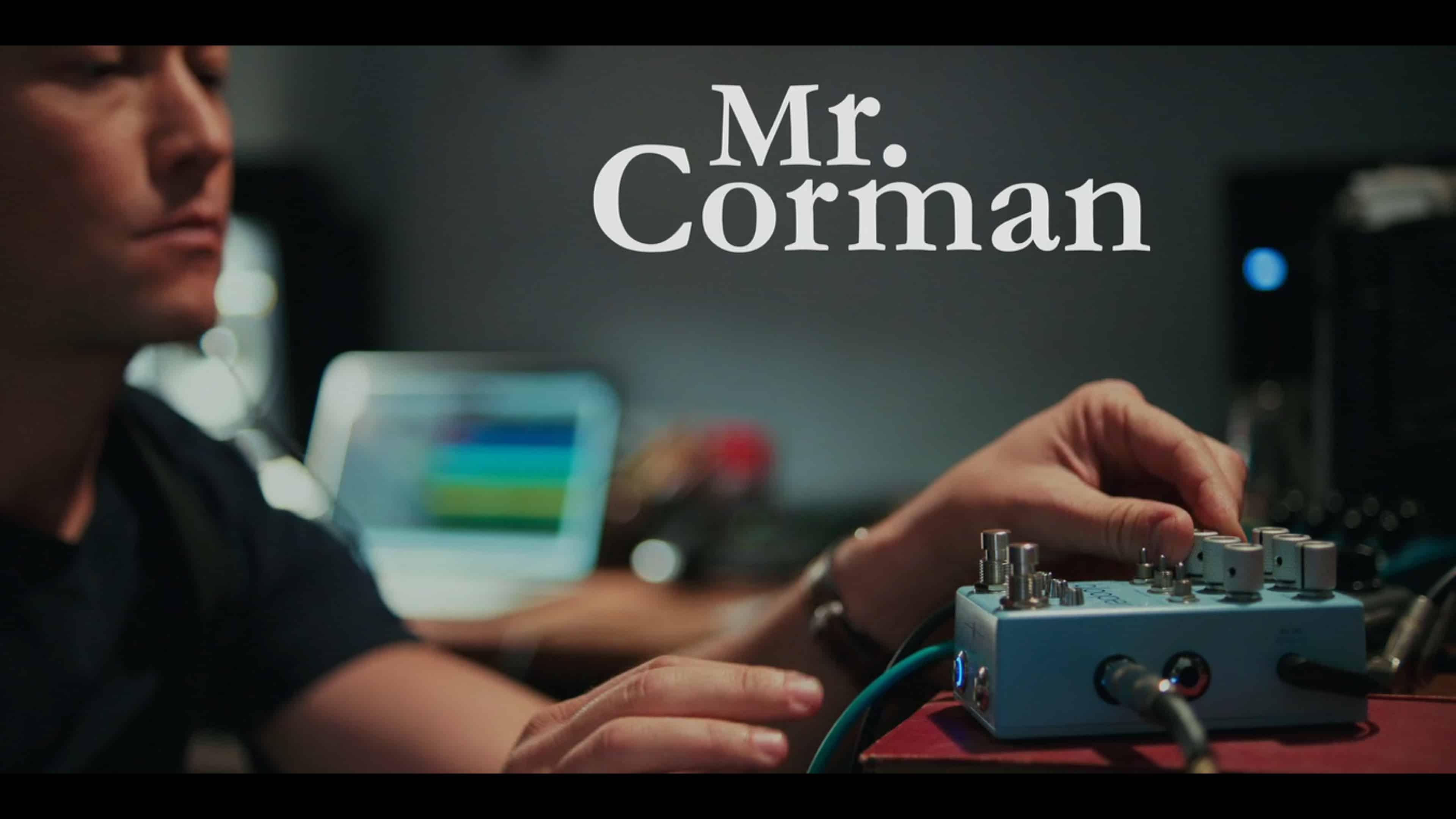 "Title Card - Mr. Corman Season 1 Episode 6 ""Funeral"""