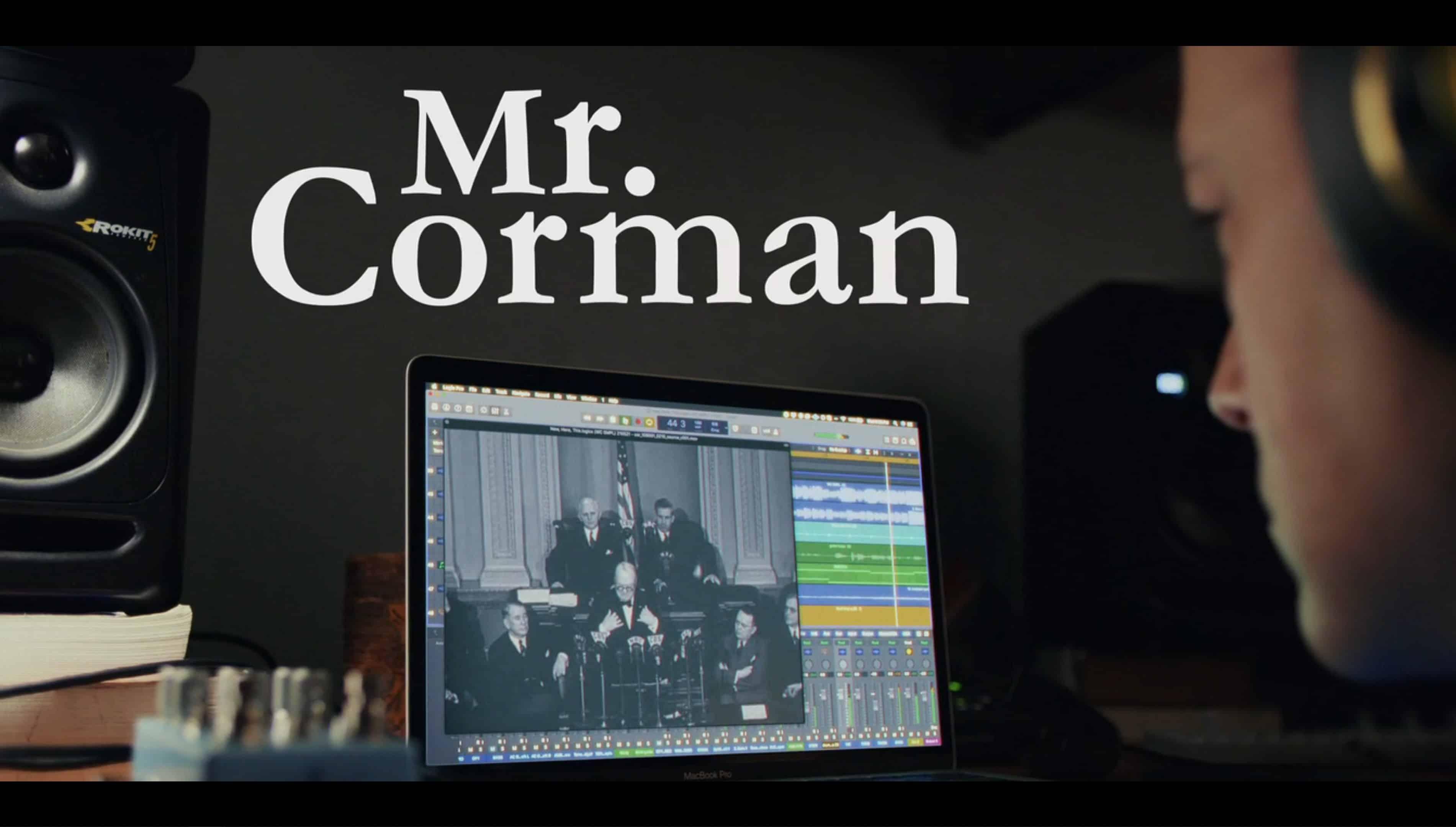 Title Card - Mr. Corman Season 1 Episode 8 Hope You Feel Better