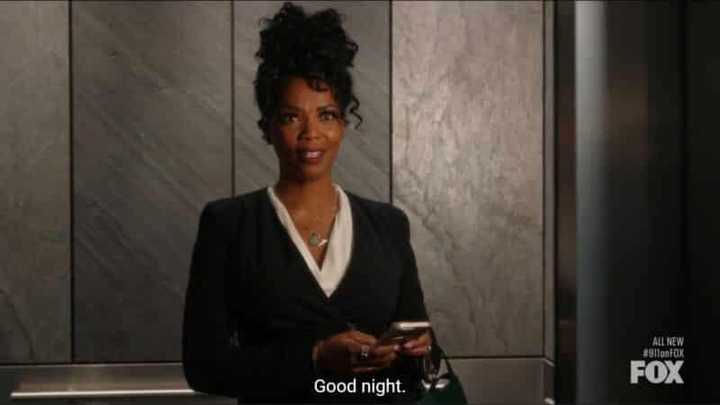 Claudette (Vanessa Williams) noting her displeasure with May