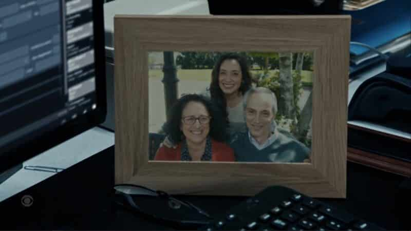 Detective Paley (Erica Camarano) and her parents