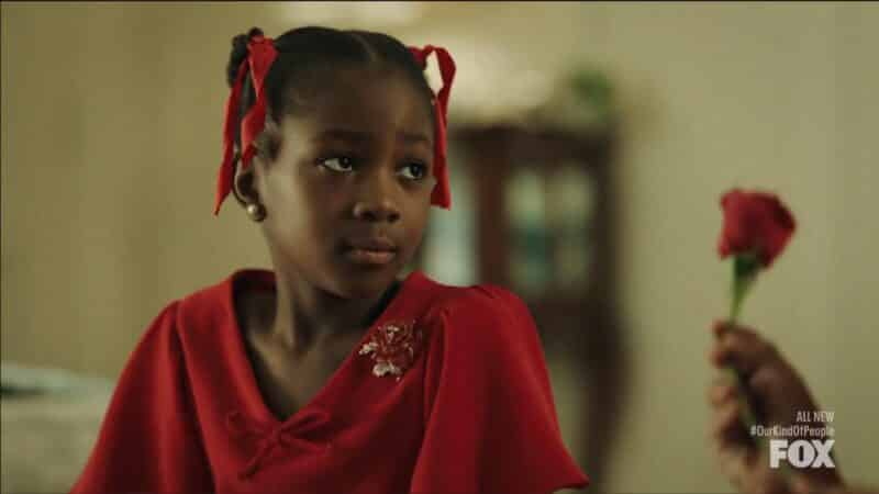 9 year old Leah (Sheridan Walker)
