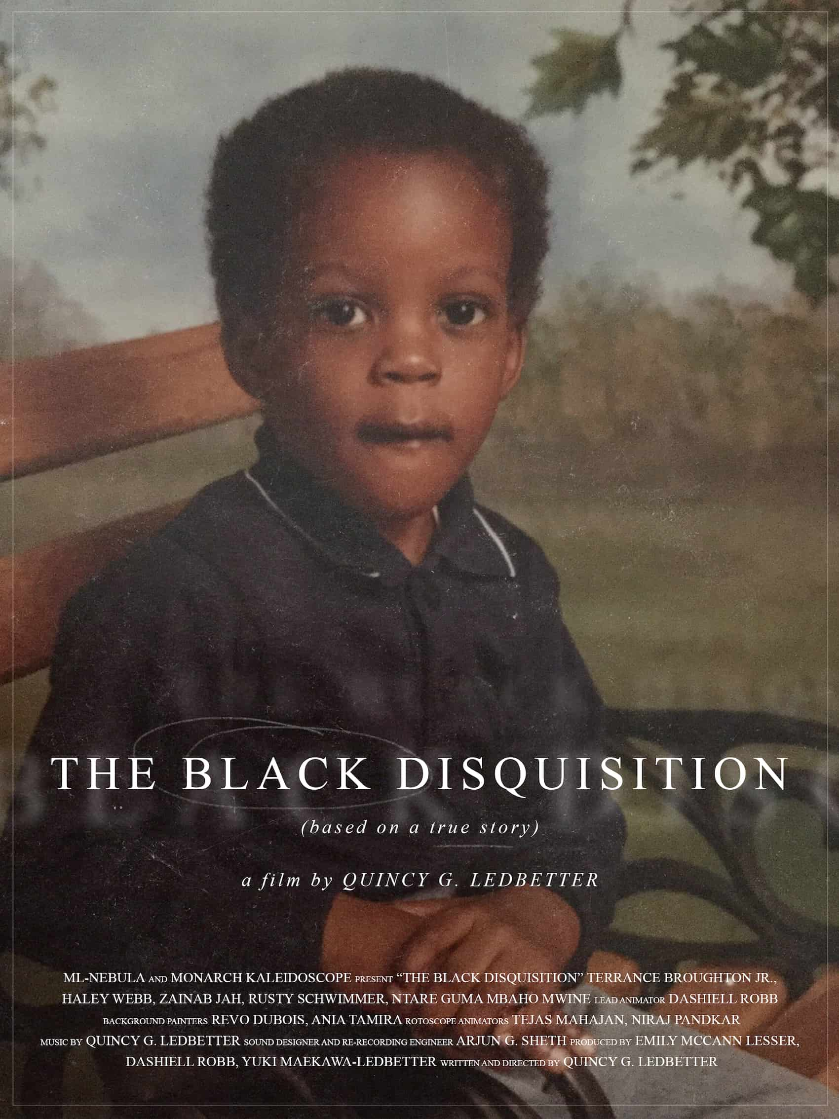 Movie Poster - The Black Disquision (2021)