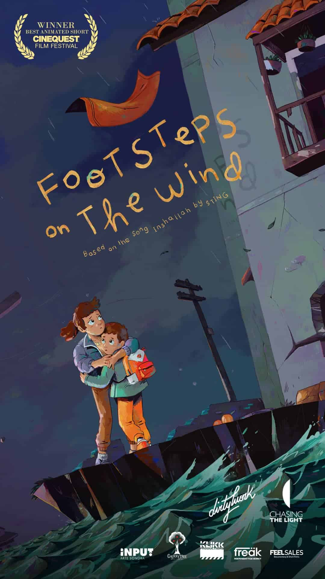 Poster - Footsteps On The Wind (2021)