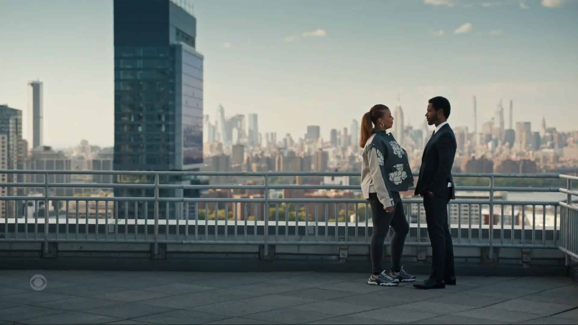 Robyn and Dante on a roof